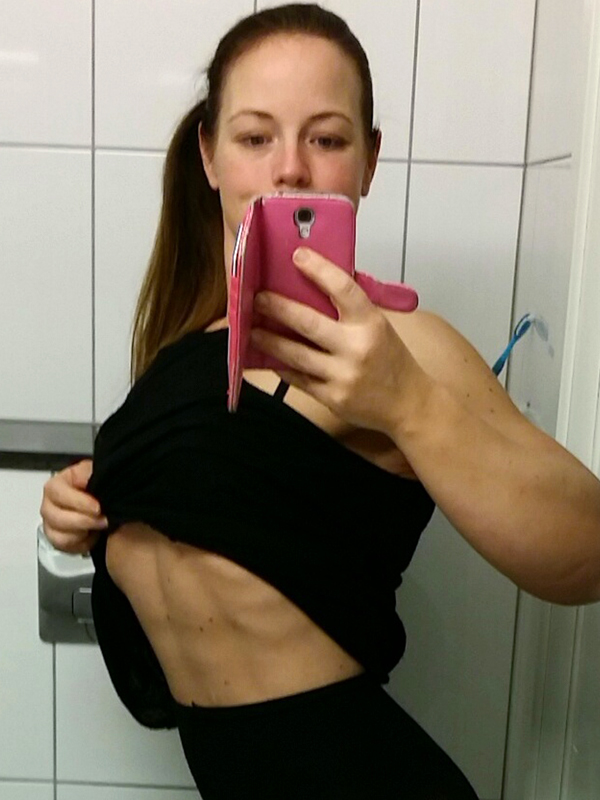 PIC BY CATERS NEWS - (PICTURED: Sara Magnusson Backstrm after losing half her body weight and getting toned) - A 23 stone (330lbs) mum who was so overweight she broke a chair has lost half her body weight - and married the personal trainer who saved her life. Sara Magnusson Backstrm, 37, from Gothenburg, Sweden, was left red-faced when a camping chair snapped while shopping for furniture at a garden store. She immediately hired a personal trainer, Fredrik Magnusson, who she would later tie the knot with, and began working out three times a week. After losing 5.5st (77lbs), the make-up artist switched to an online diet plan and upped her work outs to 10 times a week. The tenacious woman shrunk a further 6st 13lb (97lbs) and began to build muscle which helped fill excess skin. Having lost a total of 12st 6lb, she married Fredrik Magnusson on July 4 last year and flaunts her toned assets on Instagram. SEE CATERS COPY